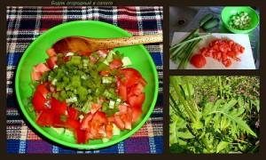 Летний огородный салат (на 4-8 человек)