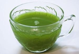 Семейный зеленый сок.