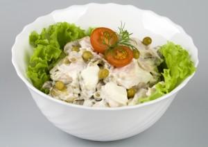Рецепты салатов.