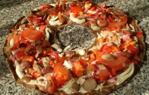 Живая пицца