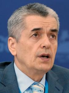 Геннадий Онищенко критикует сыроедение