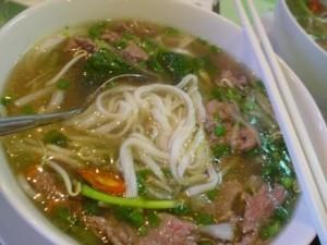 Вьетнамский говяжьий суп из сырой говядины