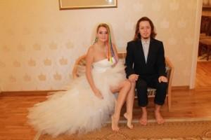 В Питере прошла свадьба сыроедов